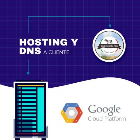 Servicios de Hosting y DNS Bp Lacteos BP Lácteos - 1
