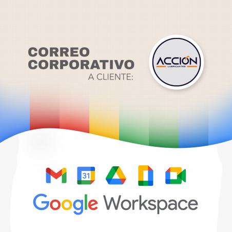 Correos corporativos Workspace Acción Lubricantes Acción - 1